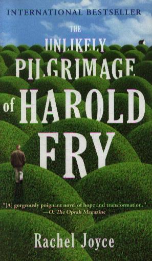 Joyce R. Unlikely pilgrimage of Harold Fry riggs r library of souls