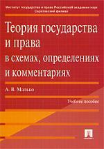 Теория гос-ва и права в схемах определениях и комм.