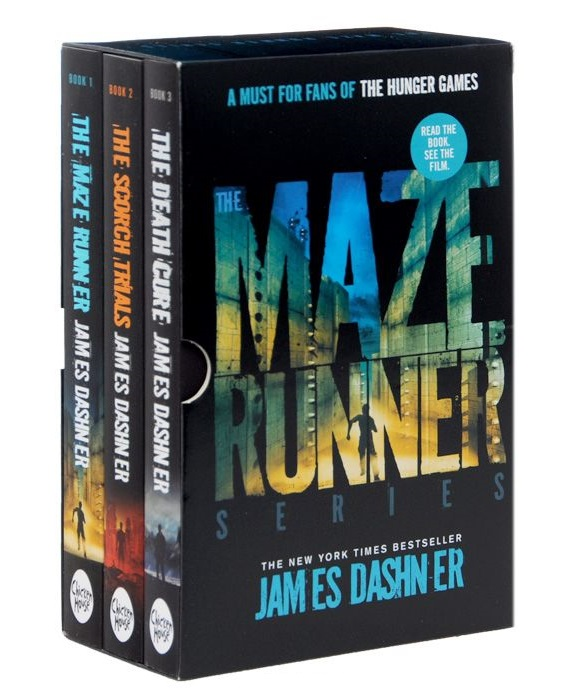 Dashner J. The Maze Runner Series (комплект из 3 книг) пудра tony moly face mix oil paper powder 9 г