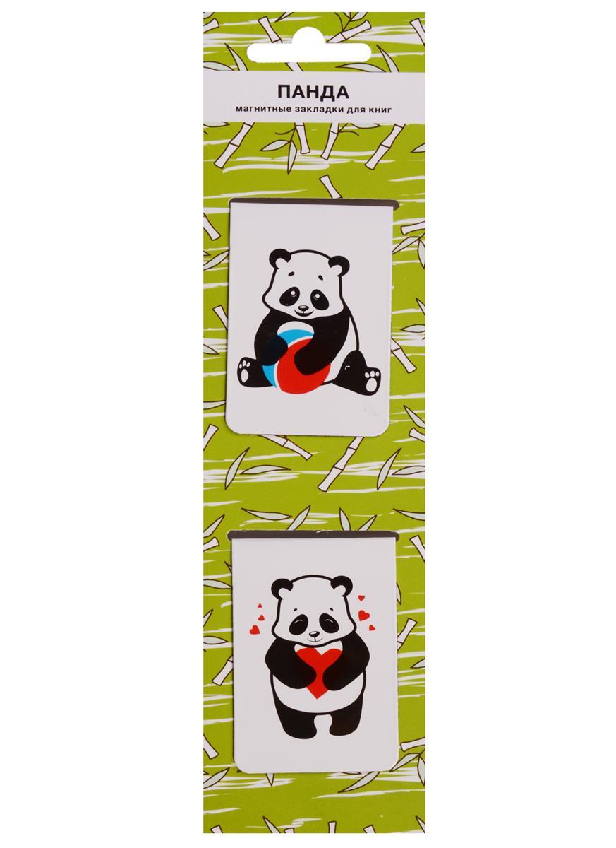 Магнитные закладки Панда (салатовая) (2 шт)