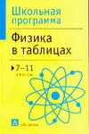 Физика в таблицах 7-11 кл