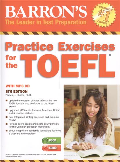 Sharpe P. Barron's Practice Exercises for the TOEFL (+CD) pamela j sharpe stephen j matthiesen toefl ibt superpack
