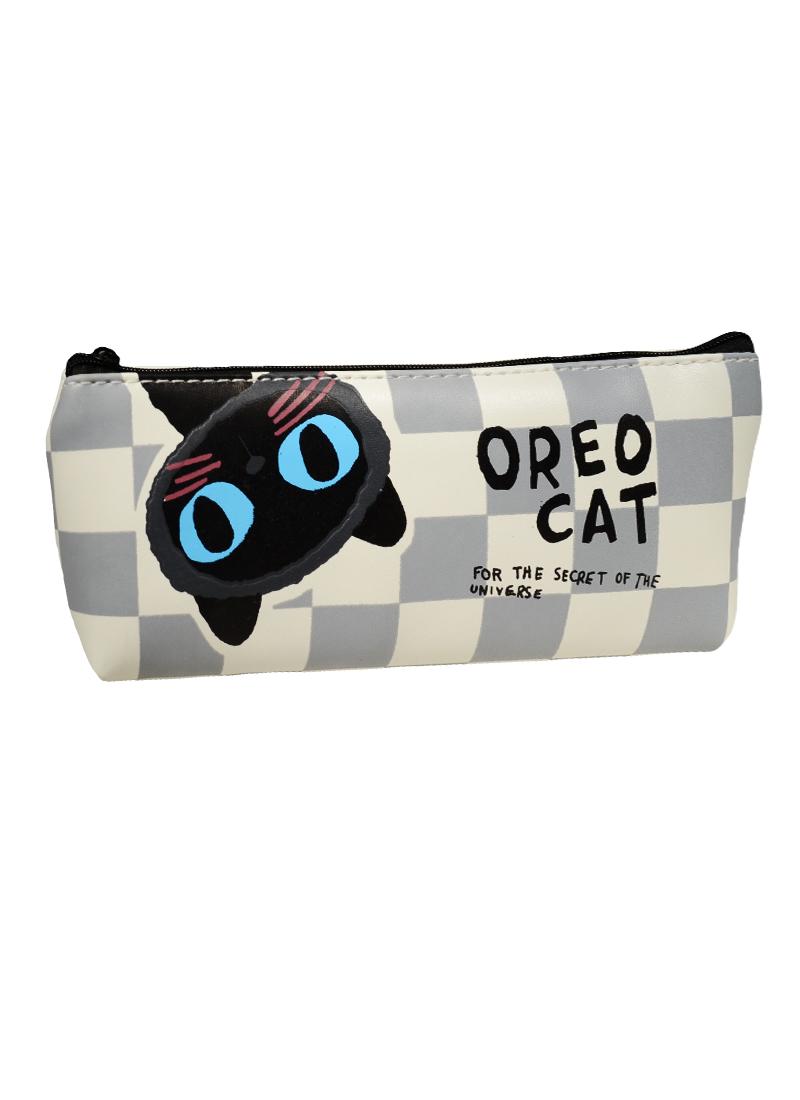 Пенал на молнии Котенок Oreo Cat (20х8)