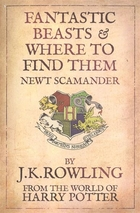 Fantastic Beasts & Where to Find Them. Newt Scamander