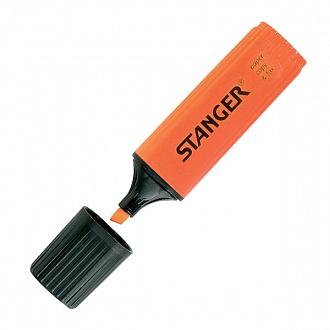 """Текстовыделитель """"Paper&Fax"""" оранжевый 1-4 мм, Stanger"""
