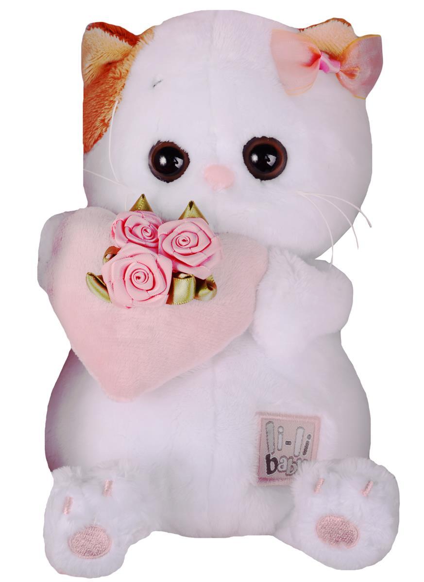 Мягкая игрушка Ли-Ли BABY с розовым сердечком (20 см)
