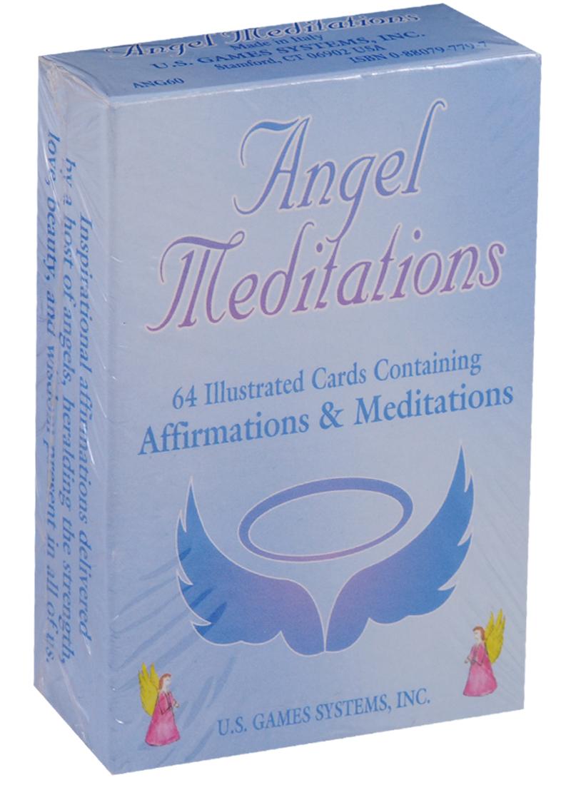 Cafe S., Innecco N. Angel Meditation Cards / Ангельские медитационные карты (карты + инструкция на английском языке) ангельские глазки для е60