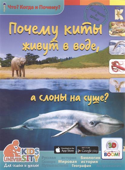 Евстигнеев А. 3D Boom. Почему киты живут в воде, а слоны на суше? почему слоны сборник мультфильмов