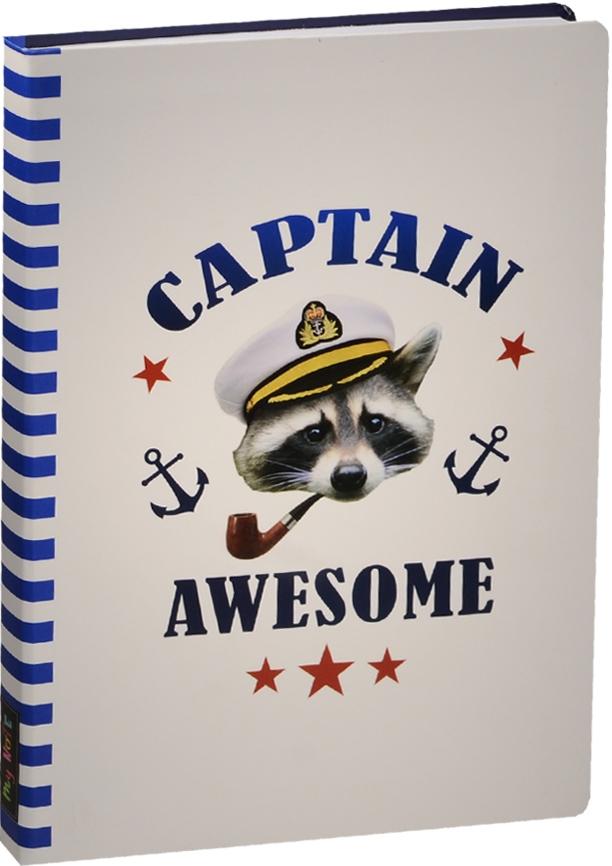 """Блокнот """"Captain Awesome: Енот"""""""