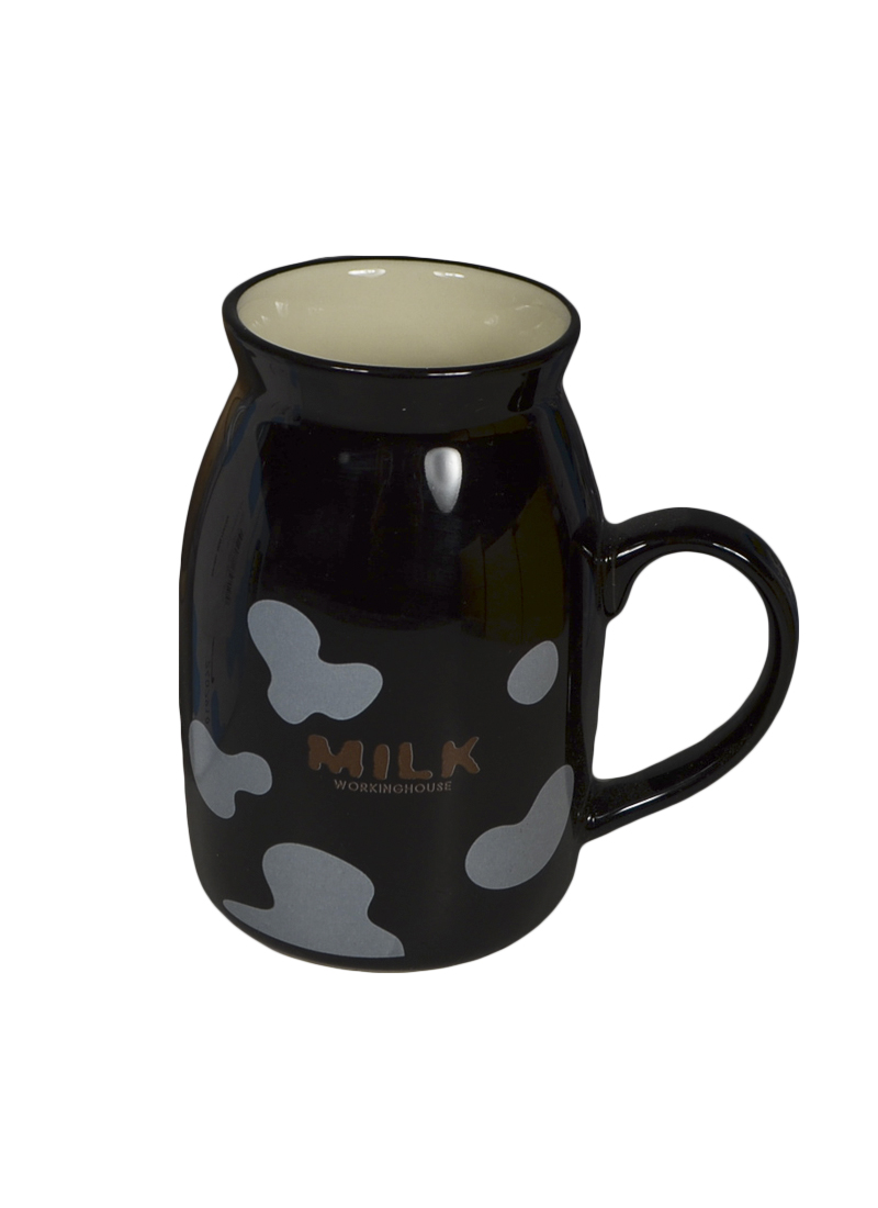 Кружка Milk черная (003066) (Карамба)