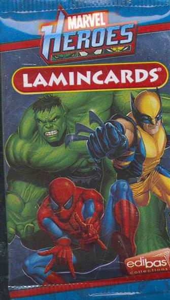 Набор карточек Marvel Heroes