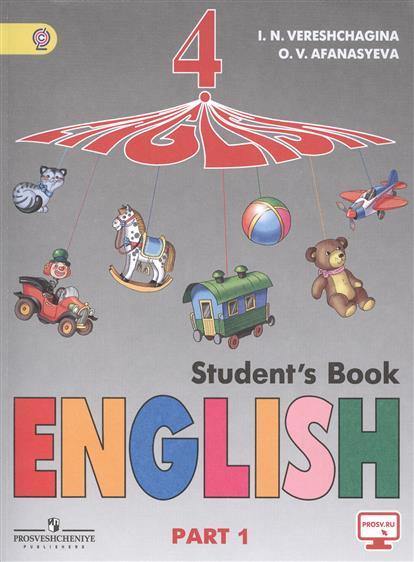 English. Student`s Book. Английский язык. 4 класс. Учебник. Части 1 и 2 (комплект из 2-х книг)