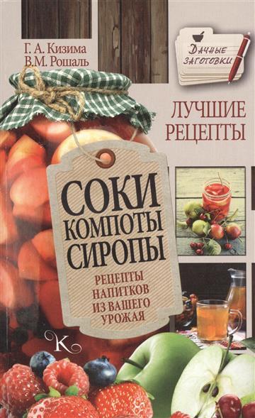 Кизима Г., Рошаль В. Соки, компоты, сиропы. Рецепты напитков из вашего урожая кизима г а соки компоты сиропы лучшие рецепты напитков из вашего урожая