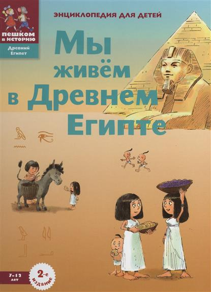 Заславская М. Мы живем в Древнем Египте. Энциклопедия для детей supra drs i66vst