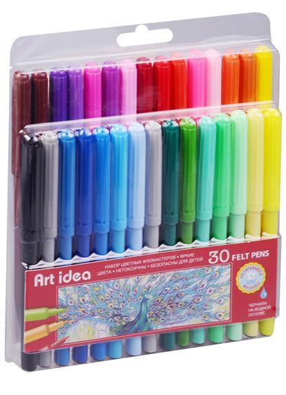 Фломастеры 30 цветов, Art idea