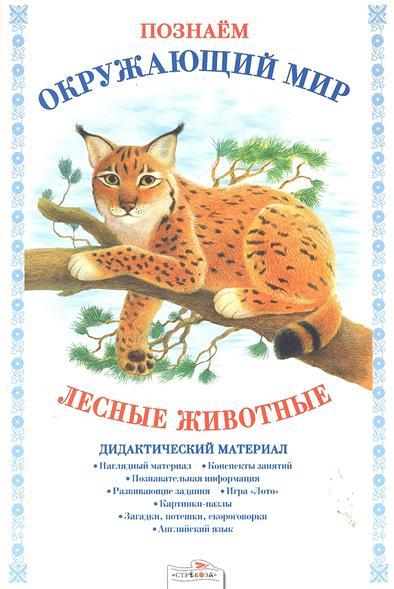 Лесные животные Дидакт. матер.
