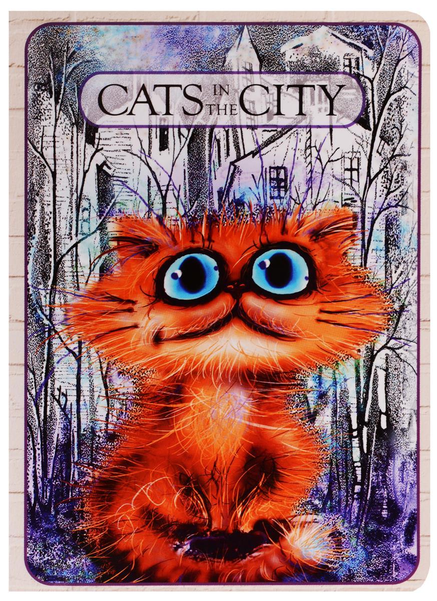 """Записная книжка """"Cats in the City: В своем городе"""""""