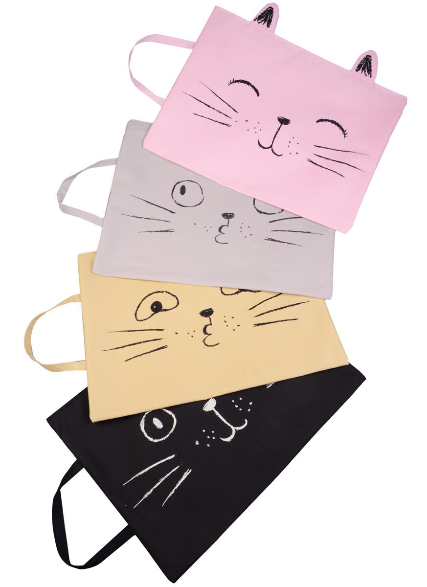"""Папка с ручкой """"Funny cat"""""""