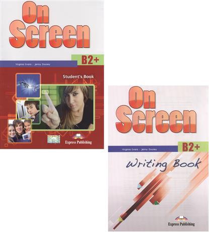 On Screen B2+. Student's Book + Writing Book (комплект из 2-х книг в упаковке)