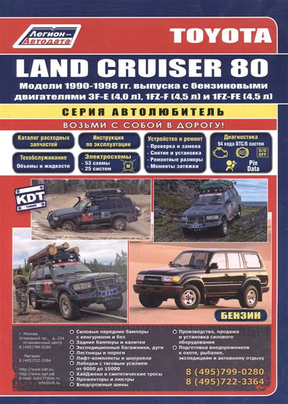 Toyota Land Cruiser 80 1990-1998 с бенз. двиг. браслеты bijoux land браслет