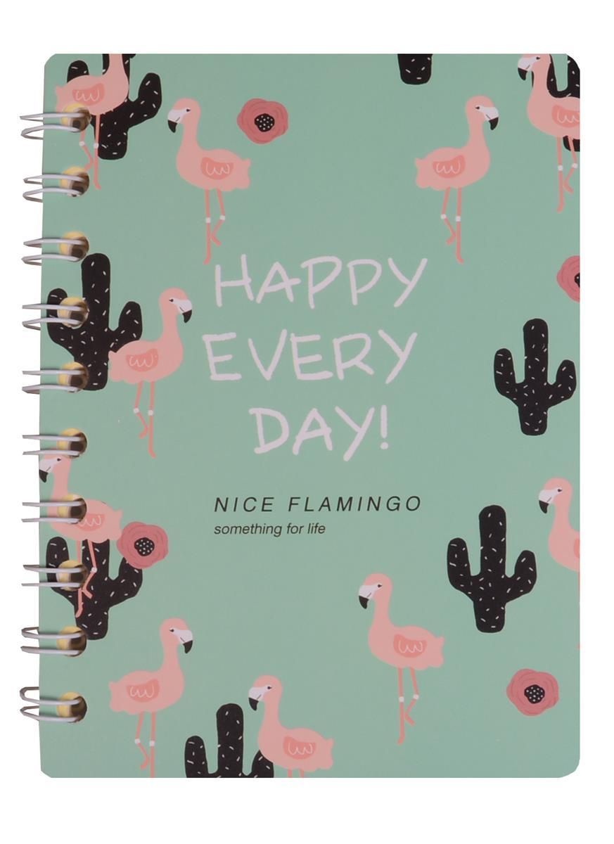 """Записная книжка А6 """"Nice Flamingo"""""""