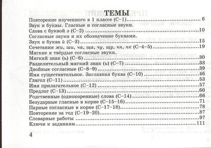 Русский язык. 2 класс. Самостоятельные работы. Вставь букву