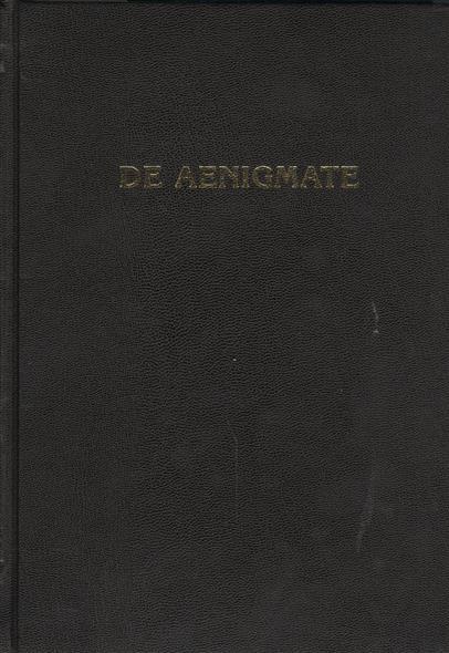 De Aenigmate / О тайне. Сборник научных трудов