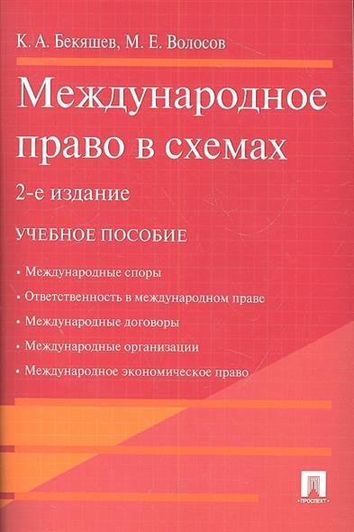 Международное право в схемах. Учебное пособие. 2-е издание
