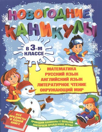 Новогодние каникулы в 3-м классе: Математика, русский язык, английский язык, литературное чтение, окружающий мир