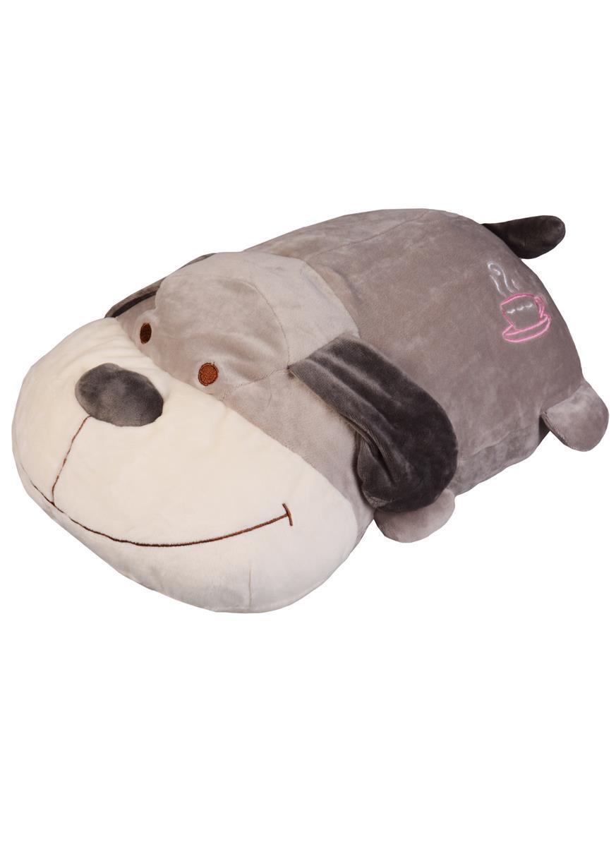 Мягкая игрушка Собачка серая (40см)