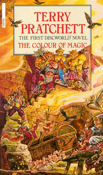 Pratchett T. The Colour of Magic terry pratchett unseen academicals