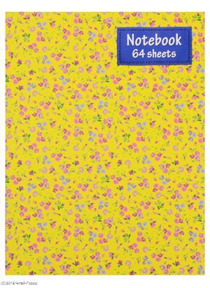 Книга для записей А5 64 листа клетка