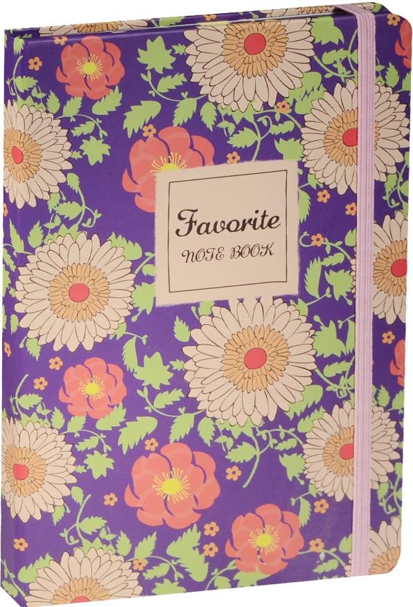 """Книга для записей """"Цветы Favourite"""", А5, 160л"""