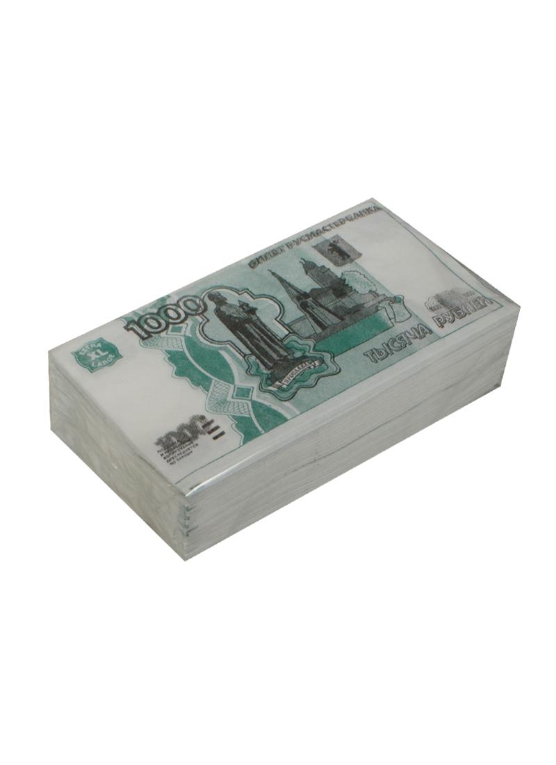 Бумажные салфетки 1000 руб. (2-х слойные) (Филькина грамота)