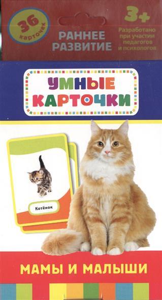 Кочеткова А. (ред.) Мамы и малыши. Развивающие карточки
