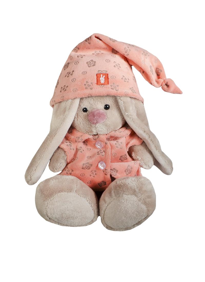 Мягкая игрушка Зайка Ми в розовой пижаме (18см) (SidS-070) (Буди Баса)