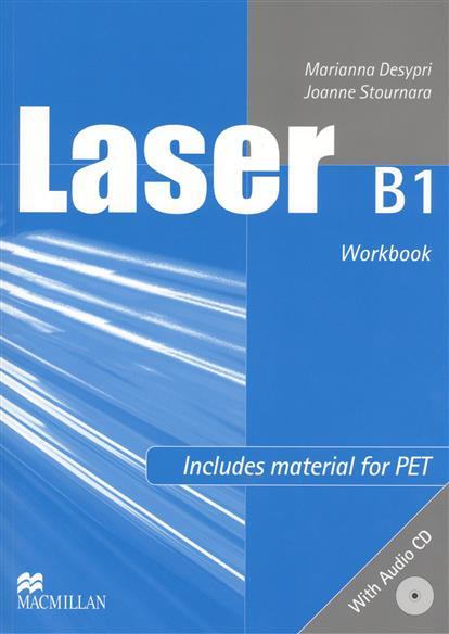 Desypri M., Stournara J. Laser B1 Workbook (+CD) global beginner workbook cd key