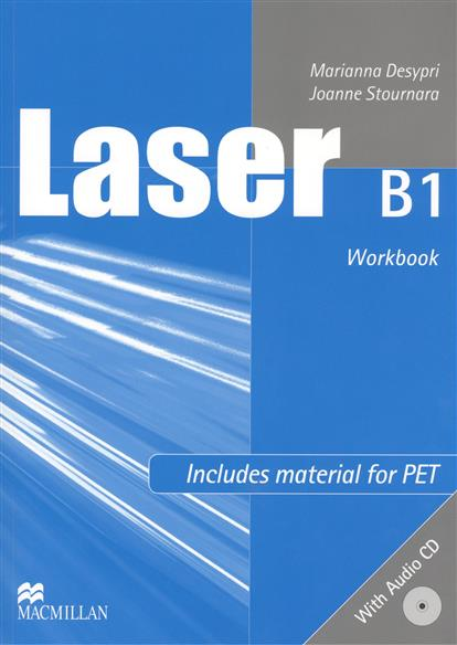 Desypri M., Stournara J. Laser B1 Workbook (+CD) laser a1 workbook without key cd