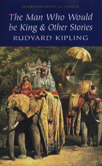 Kipling R. Kipling The man who would be king & other stories бумажник kipling k10625