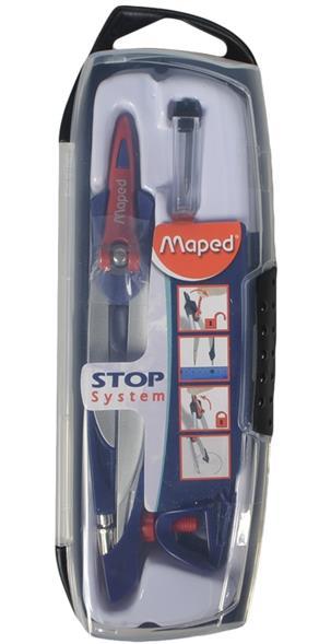 """Готовальня """"Stop System"""", 3 предм., Maped"""