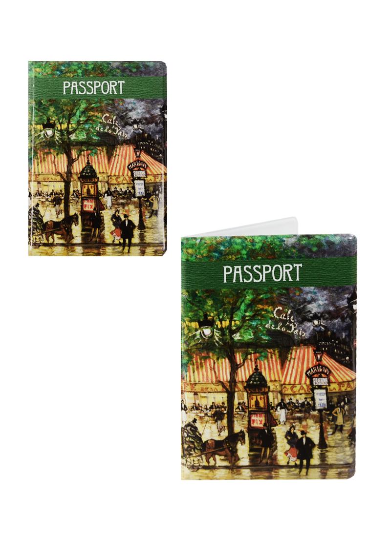 Обложка для паспорта Константин Коровин Париж. Гранд Опера