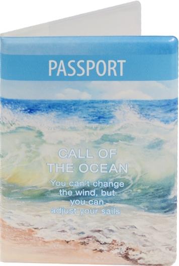 """Обложка для паспорта """"Call of the Ocean"""""""