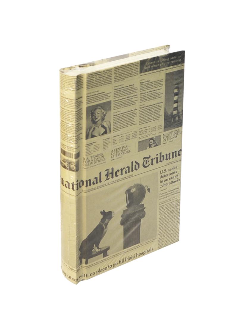 Записная книжка А6+ 160л лин. 100*175мм
