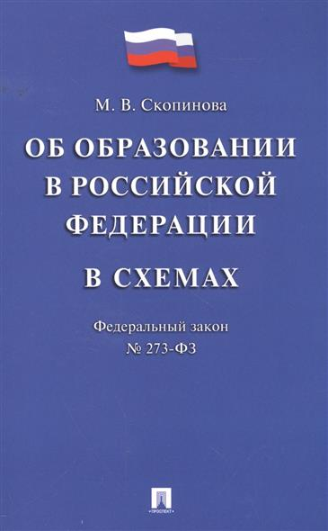 Об образовании в Российской Федерации в схемах. Федеральный закон №273-ФЗ