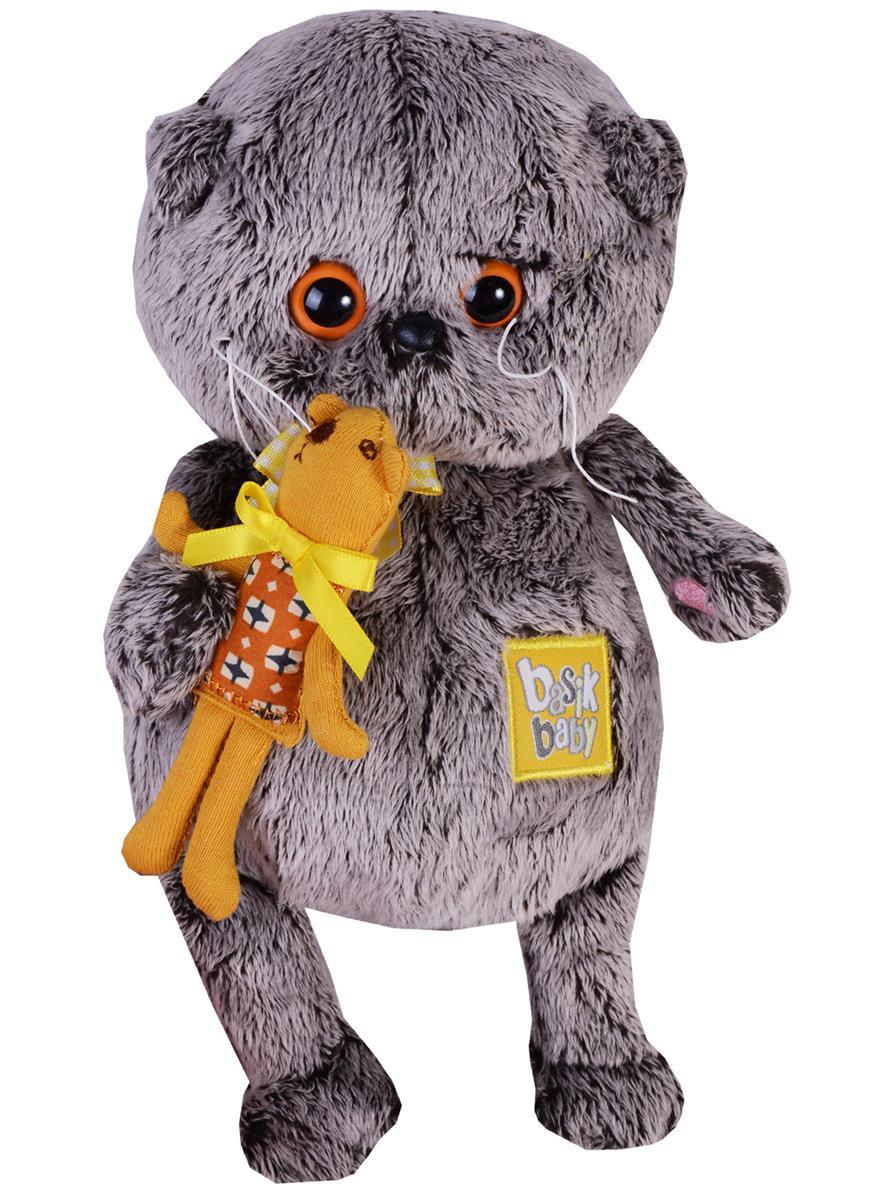 Мягкая игрушка Басик BABY с медвежонком (20 см)