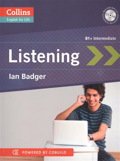 Badger I. Listening B1+ Intermediate (+CD) cd диск guano apes offline 1 cd