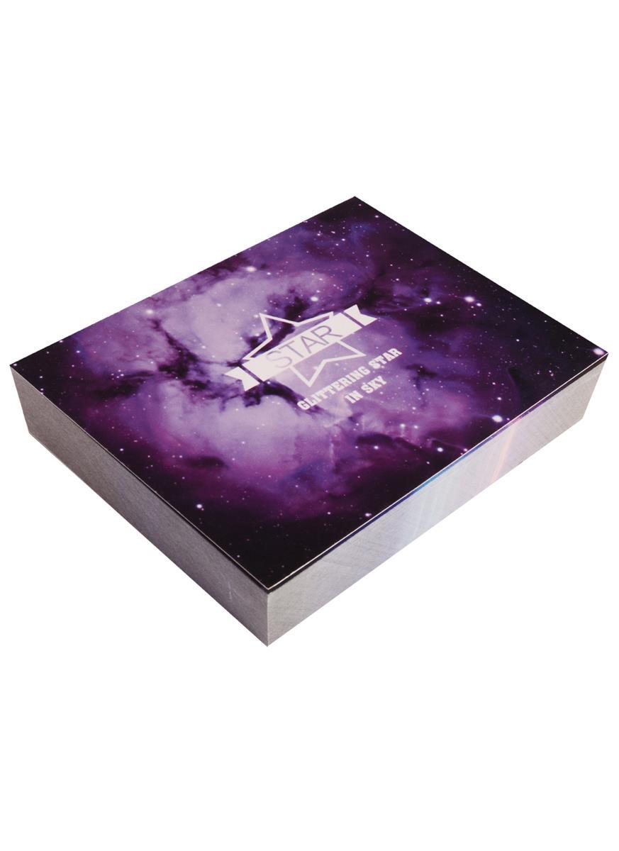 Блок для записей Космос Star (120л) (8х10,5)