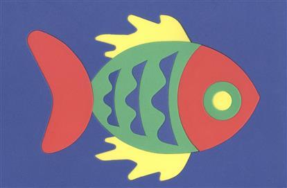 Рыбка. Пазлы мягкие