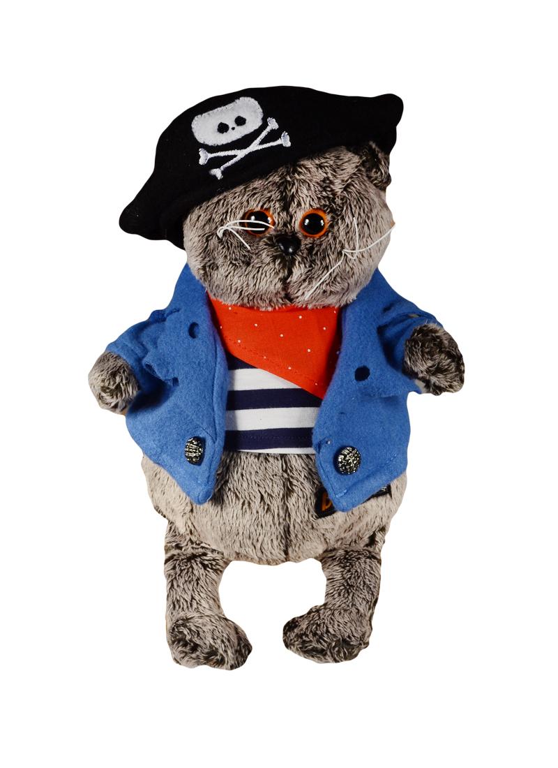 Мягкая игрушка Басик - пират (19 см)