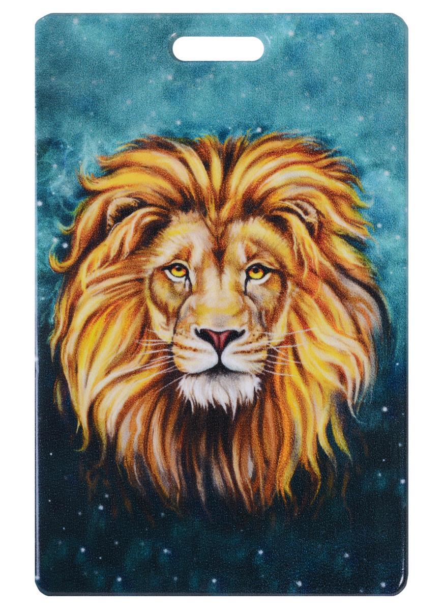 Чехол для карточек Лев